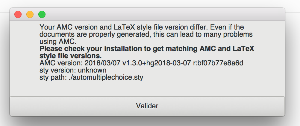 Auto Multiple Choice - Bug #600: Installation sur Mac